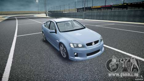 Holden Commodore SS (CIVIL) für GTA 4 Rückansicht