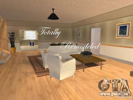 CJ Total House Remodel V 2.0 pour GTA San Andreas