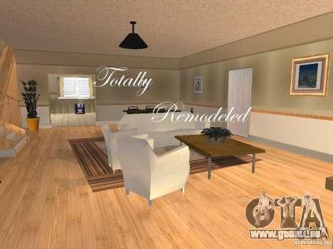CJ Total House Remodel V 2.0 pour GTA San Andreas