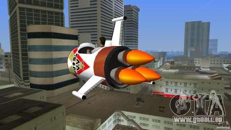 V&V Sparrow pour une vue GTA Vice City de la gauche