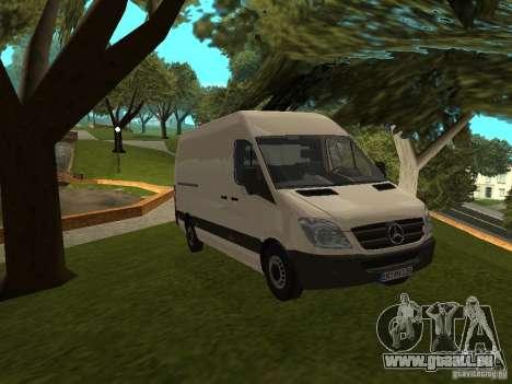 Mercedes Sprinter 311CDi beta pour GTA San Andreas
