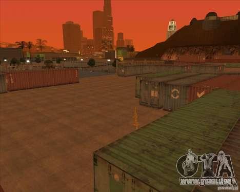 Portland pour GTA San Andreas quatrième écran
