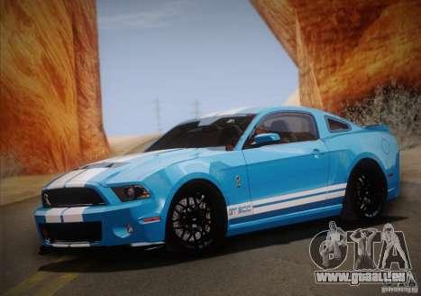 Ford Shelby GT500 2013 für GTA San Andreas