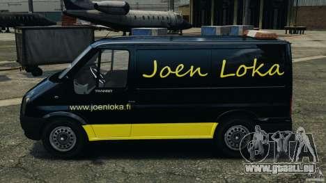 Ford Transit Joen Loka [ELS] pour GTA 4 est une gauche