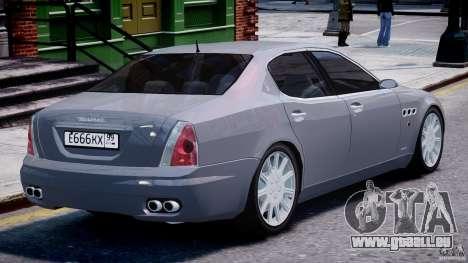 Maserati Quattroporte V für GTA 4-Motor