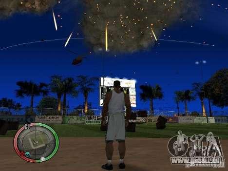 RAIN OF BOXES pour GTA San Andreas quatrième écran