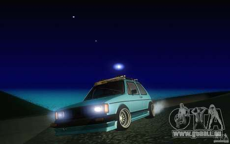Volkswagen Golf GTI rabbit euro style pour GTA San Andreas