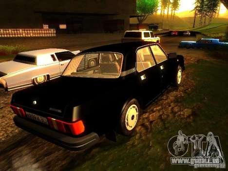 Volga GAZ 31029 für GTA San Andreas linke Ansicht