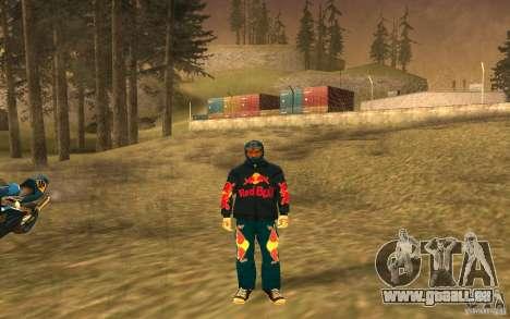 Red Bull Clothes v1.0 für GTA San Andreas