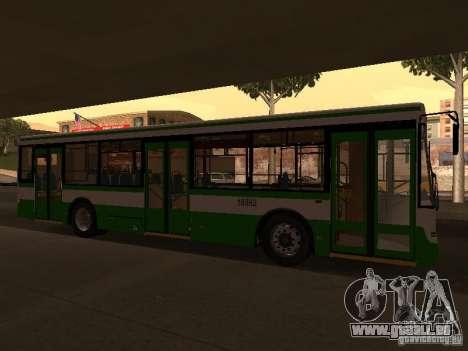 LIAZ 5292.20 pour GTA San Andreas laissé vue
