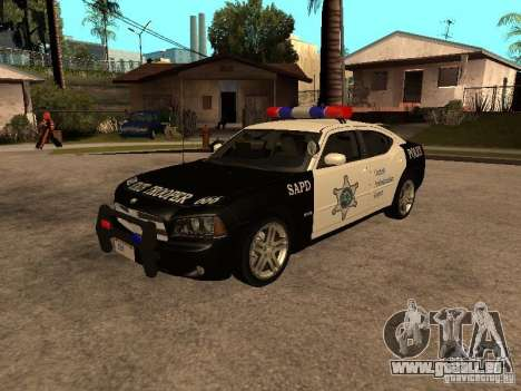 Dodge Charger RT Police pour GTA San Andreas