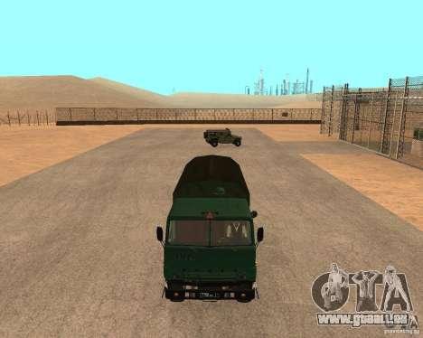 KAMAZ 4310 pour GTA San Andreas vue de droite