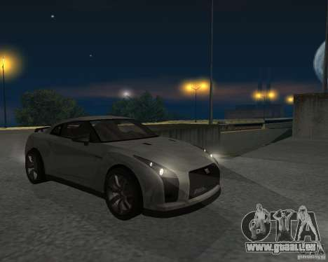 Nissan GT-R Pronto pour GTA San Andreas