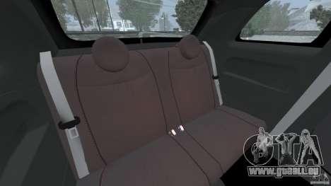 Fiat 500 Abarth pour GTA 4 est un côté