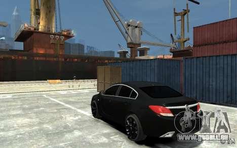 Opel Insignia OPC BETA für GTA 4 hinten links Ansicht