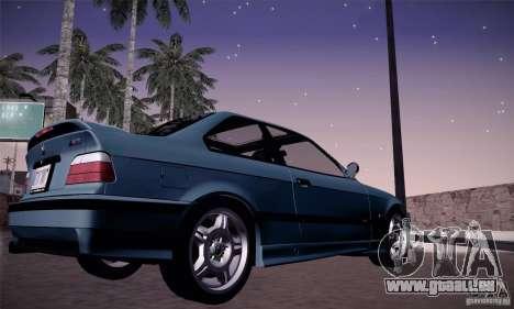 BMW E36 M3 Coupe - Stock für GTA San Andreas rechten Ansicht