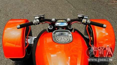Ducati Diavel Reversetrike pour GTA 4 est un droit