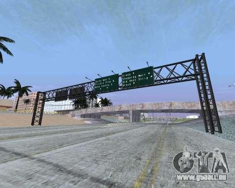 Route signes v1.2 pour GTA San Andreas