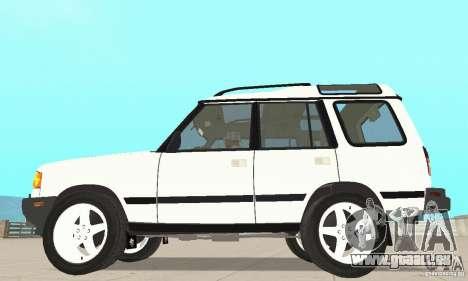 Land Rover Discovery 2 für GTA San Andreas zurück linke Ansicht