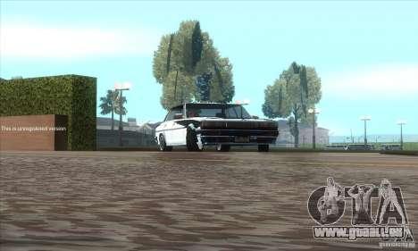 Toyota Cresta GX71 pour GTA San Andreas vue arrière