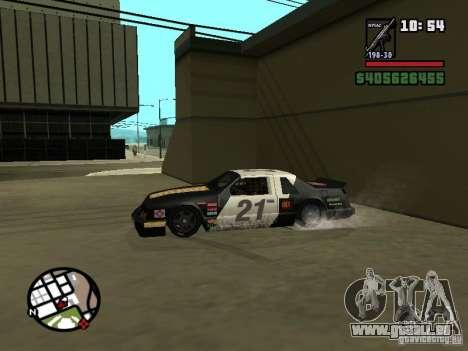 Transfender fix pour GTA San Andreas troisième écran