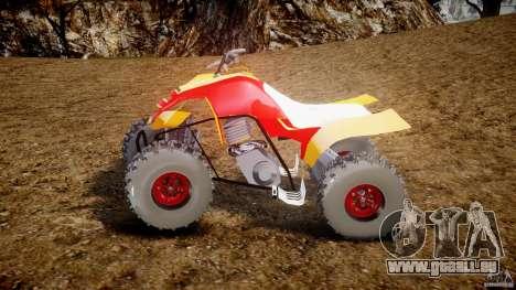 Yamaha Y660R Quadbike [Beta] pour GTA 4 est une gauche