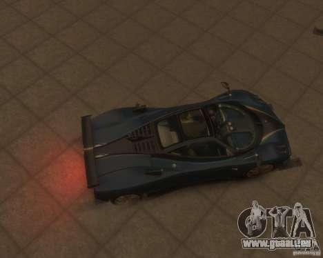 Pagani Zonda Tricolore für GTA 4 Rückansicht