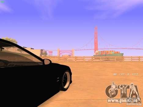 BMW M5 E39 Stanced pour GTA San Andreas vue de côté