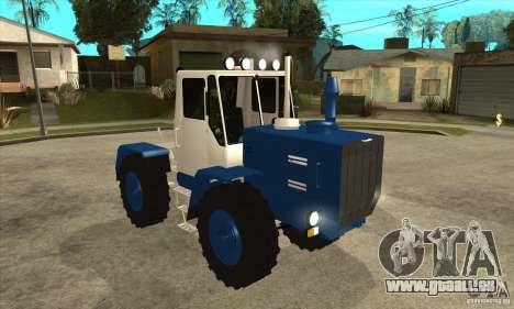 Traktor schneiden für GTA San Andreas Rückansicht