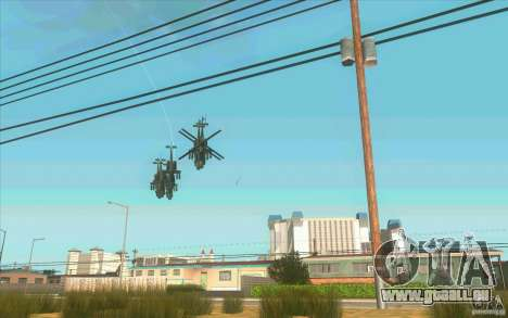 6 étoiles pour GTA San Andreas deuxième écran