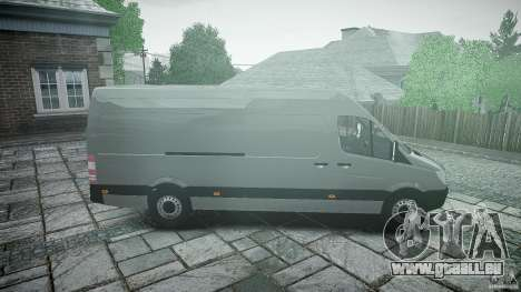 Mercedes Benz Sprinter Long Version für GTA 4 Innenansicht