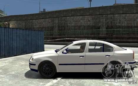 Skoda Octavia II 2005 für GTA 4 linke Ansicht