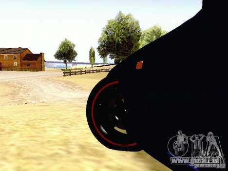 Toyota Supra Drift Edition pour GTA San Andreas vue de côté