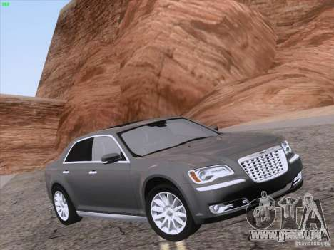 Chrysler 300 Limited 2013 für GTA San Andreas obere Ansicht