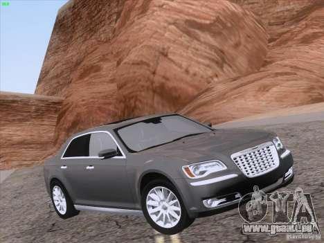 Chrysler 300 Limited 2013 pour GTA San Andreas vue de dessus