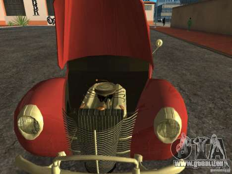 Ford 1940 v8 für GTA San Andreas zurück linke Ansicht
