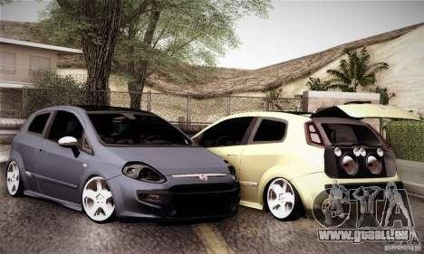 Fiat Punto Evo 2010 Edit pour GTA San Andreas vue de côté