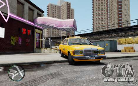 Mercedes-Benz 230 E Taxi für GTA 4