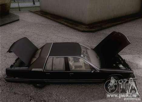 Buick Roadmaster 1996 für GTA San Andreas Innenansicht