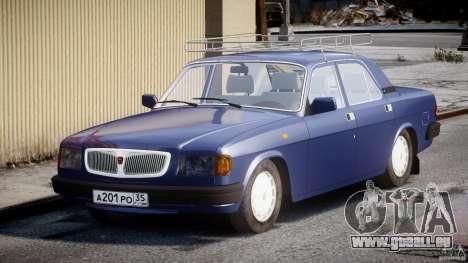 GAZ 3110 Wolga für GTA 4 Rückansicht