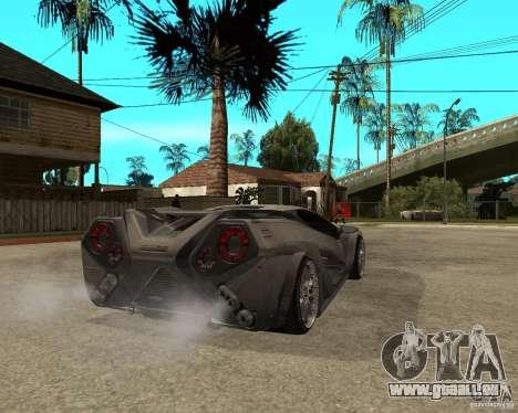 Nemixis pour GTA San Andreas sur la vue arrière gauche