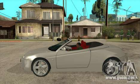 Alfa Romeo Spyder für GTA San Andreas linke Ansicht