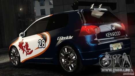 Volkswagen Golf V GTI Blacklist 15 Sonny v1.0 für GTA 4 linke Ansicht