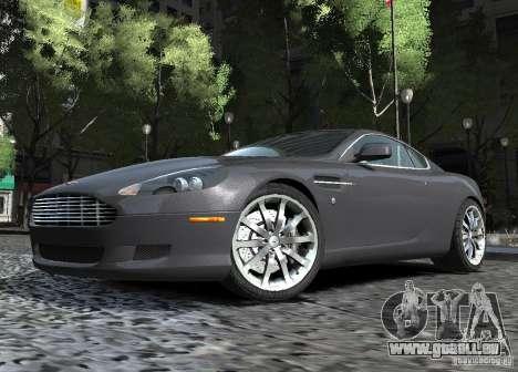 Aston Martin DB9 2008 v 1.0 pour GTA 4 est une vue de l'intérieur