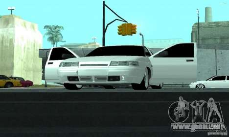 VAZ-2112 für GTA San Andreas obere Ansicht