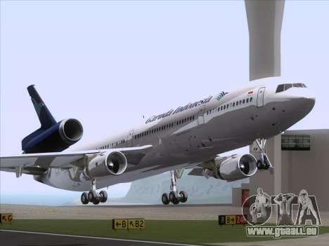 McDonnell Douglas MD-11 Garuda Indonesia für GTA San Andreas linke Ansicht
