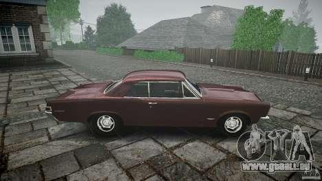 Pontiac GTO 1965 pour GTA 4 Salon