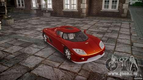 Koenigsegg CCX v1.1 für GTA 4