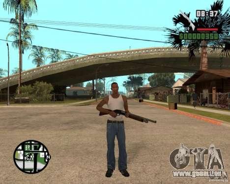 Chromegun HD pour GTA San Andreas troisième écran