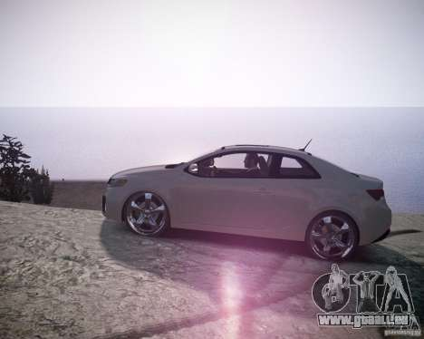 Kia Cerato Koup 2011 pour GTA 4 est une gauche